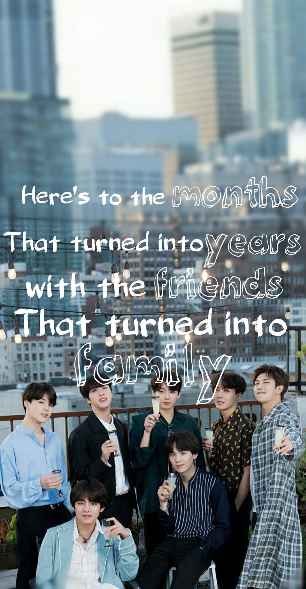 bts friends forever ©taetae💗 bts quotes bts