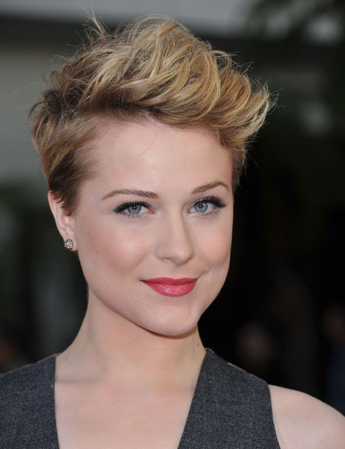 Evan Rachel Wood cheveux courts Coiffures courtes