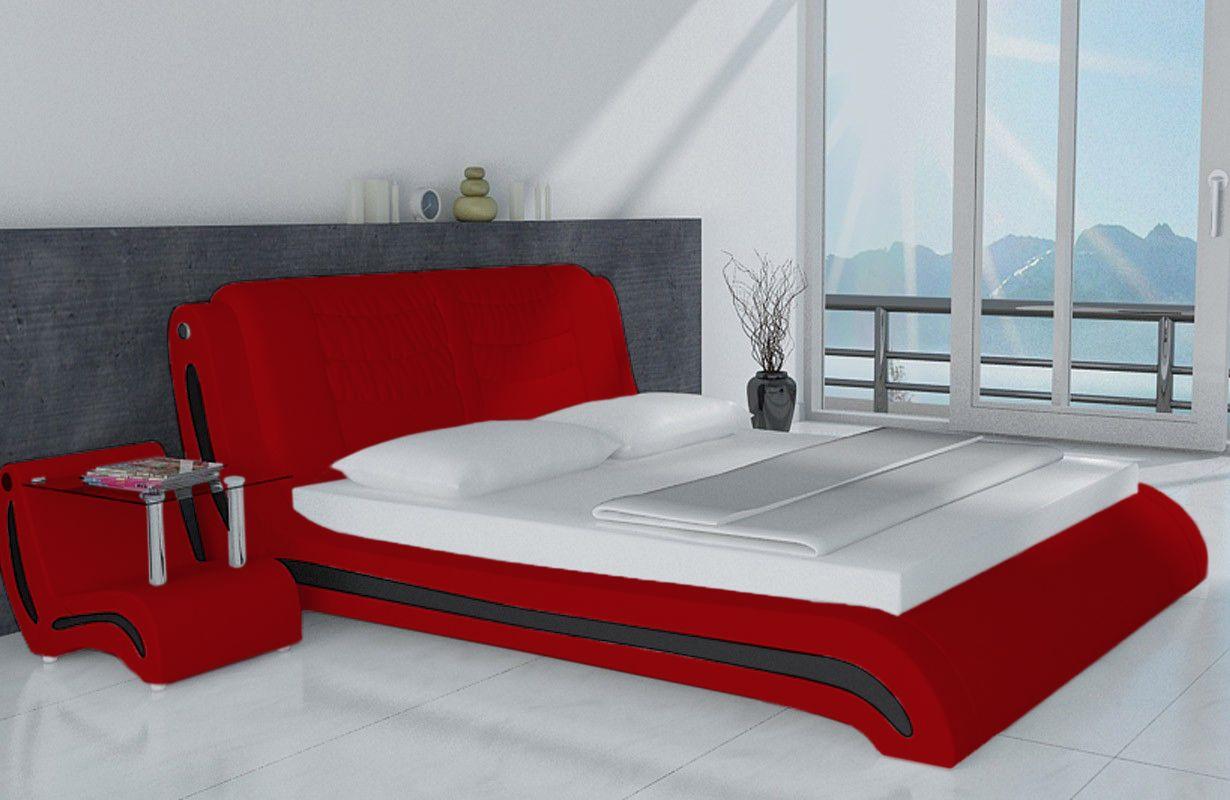 Lit Design Luisa V2 Lit Design Mobilier Design Interieur De Chambre