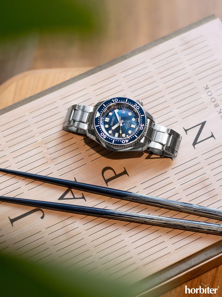 The Seiko Prospex SLA023J1 Marine Master Blue. It's finally here!  #luxurywatches