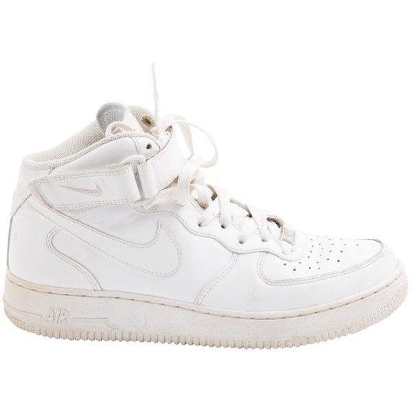Pre-owned - Leather high trainers Nike