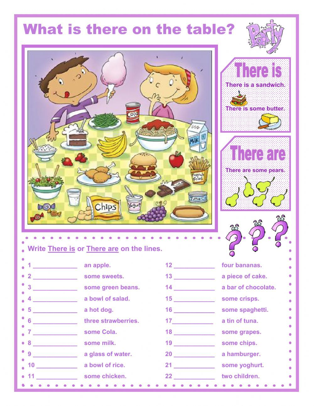There Is There Are Interactive And Downloadable Worksheet Check Your Answers Online Or Send Them To Your Teacher English Grammar English Vocabulary Teaching English [ 1291 x 1000 Pixel ]