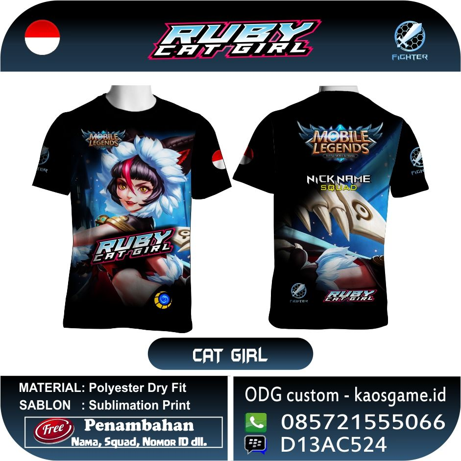 Pin On Mobile Legend T Shirt