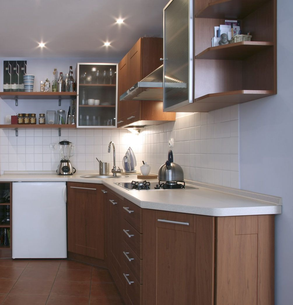 9 Small Kitchen Ideas Don't Overthink Compact Design   Shaker ...