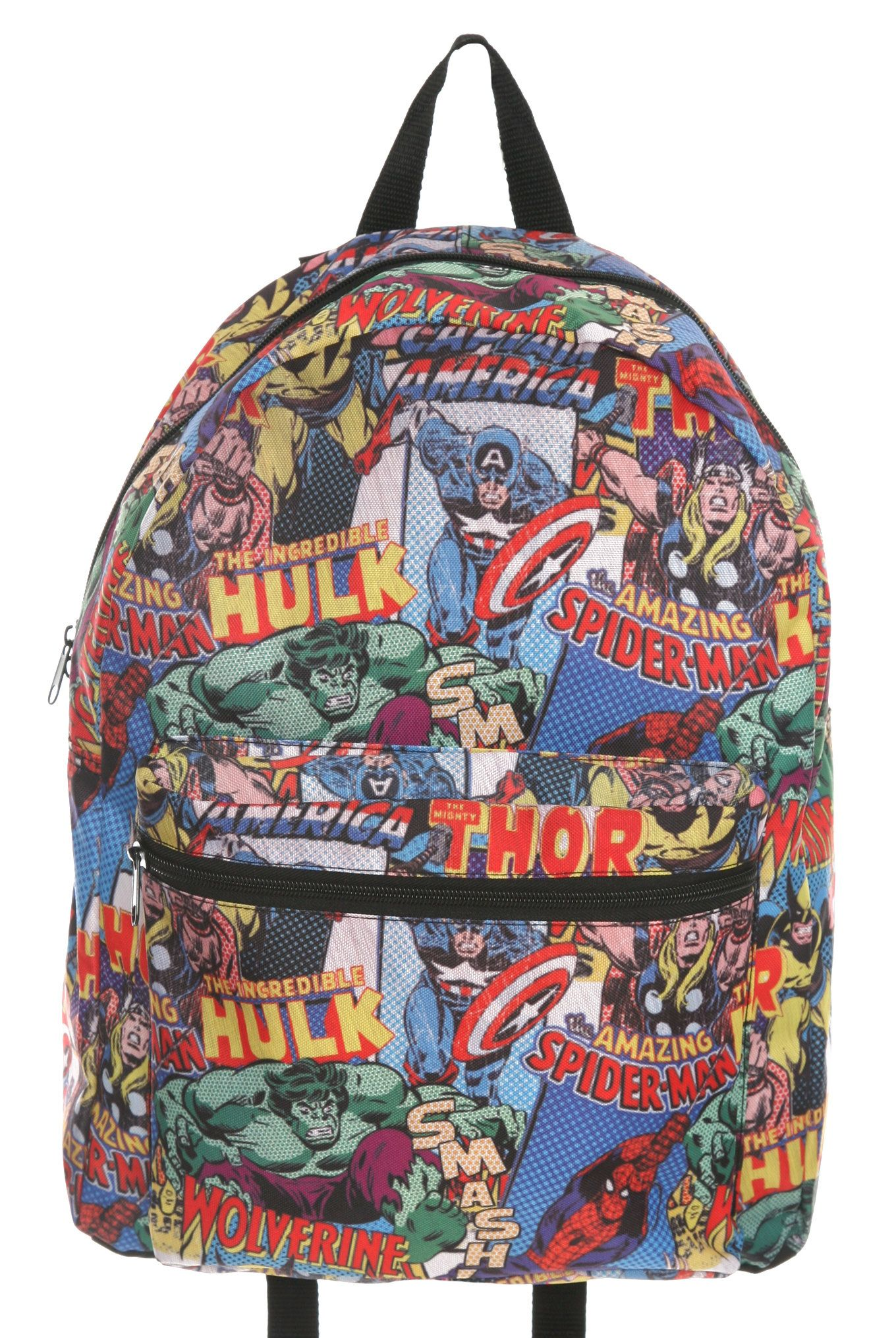 marvel bag | Marvel Comics Messenger Shoulder Book BAG Backpack DJ ...