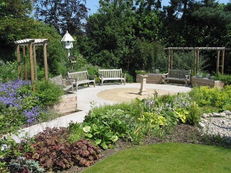 Nursing Home Garden Sensory Garden Healing Garden Landscape