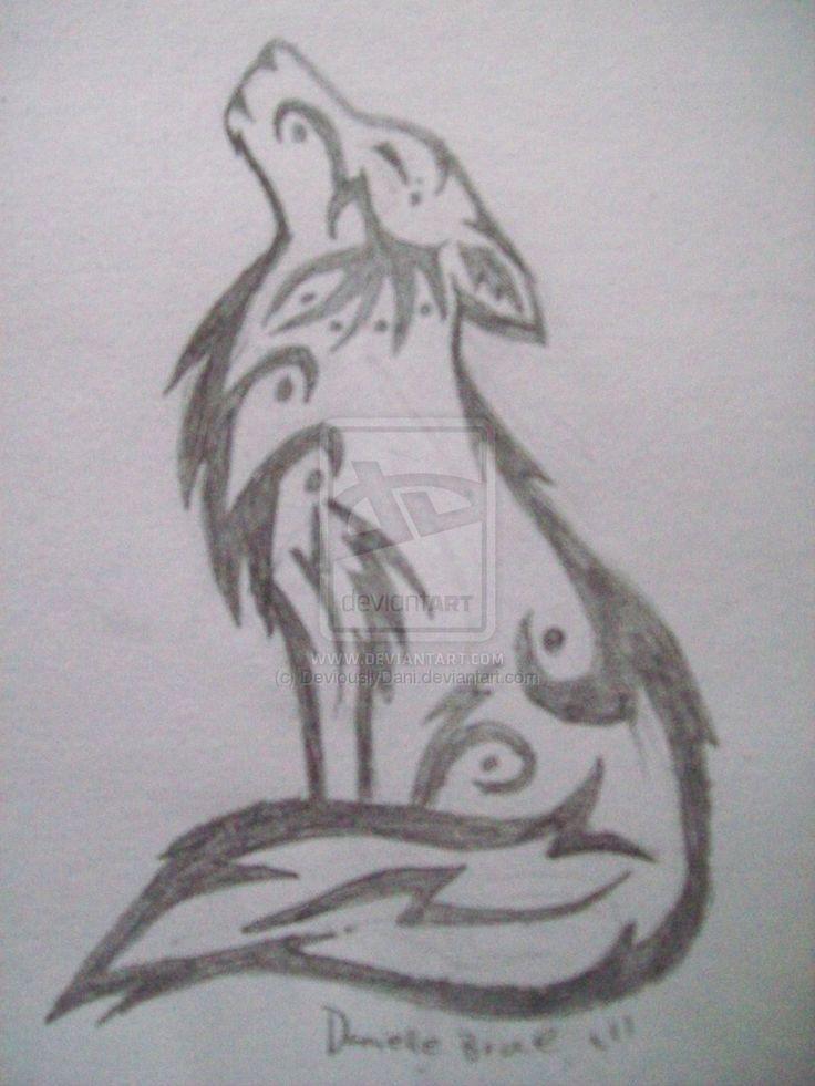 Wolf Drawings Howling Standards Of Western Art Skin Art Loading