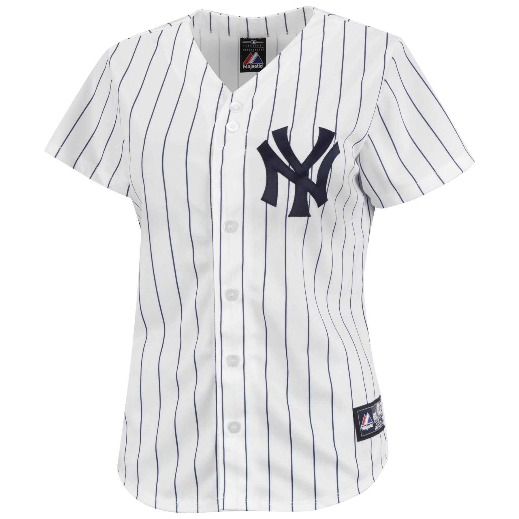 Baseball Jersey for Women | New York Yankees Women\u0027s Replica Home MLB  Baseball Jersey