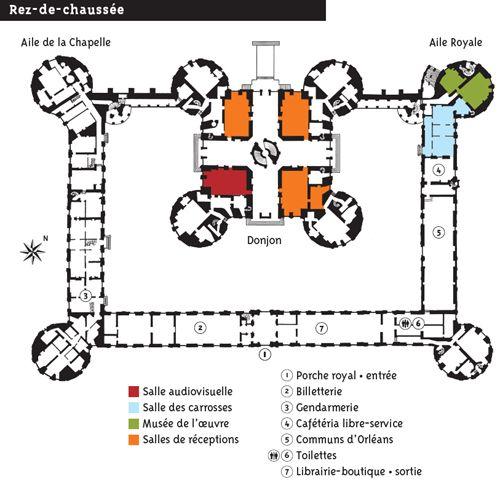 plan rez de chaussee chambord lieux vu en vrai pinterest vrai et lieux. Black Bedroom Furniture Sets. Home Design Ideas