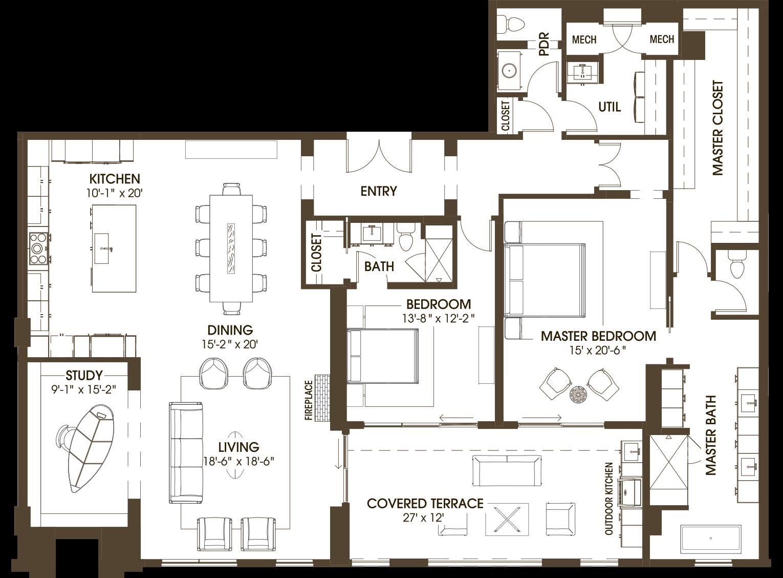 Residential Building Floor Plan House Plans Residential Building Plan Residential Building