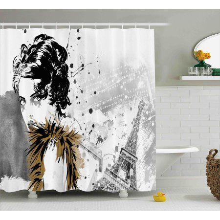Enhance The Look Of Your Bathroom With Trendy Shower Curtain Rods Contemporary Bathrooms Modern Decor Contemporary