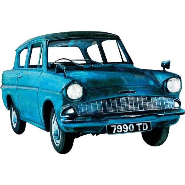 The Flying Ford Anglia From Harry Potter Whitemarshford Ford