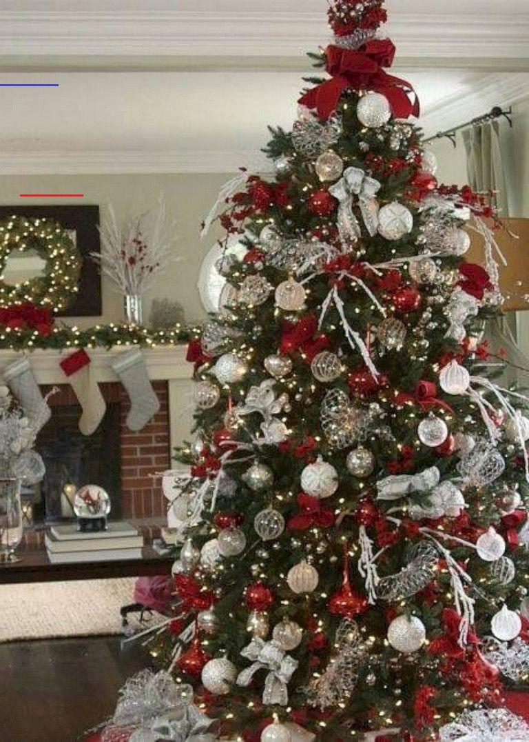 28 Inspiring Festive Christmas Tree Decor Ideas Christmastreeideas Research All Balsam Hill S Beautiful Appears Below Tast Kerstdecoratie Kerstmis Kerst