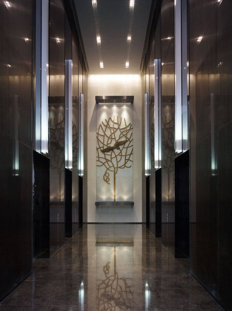 Mix c callison architects lobbies and unique lighting - Kantoor deco ...