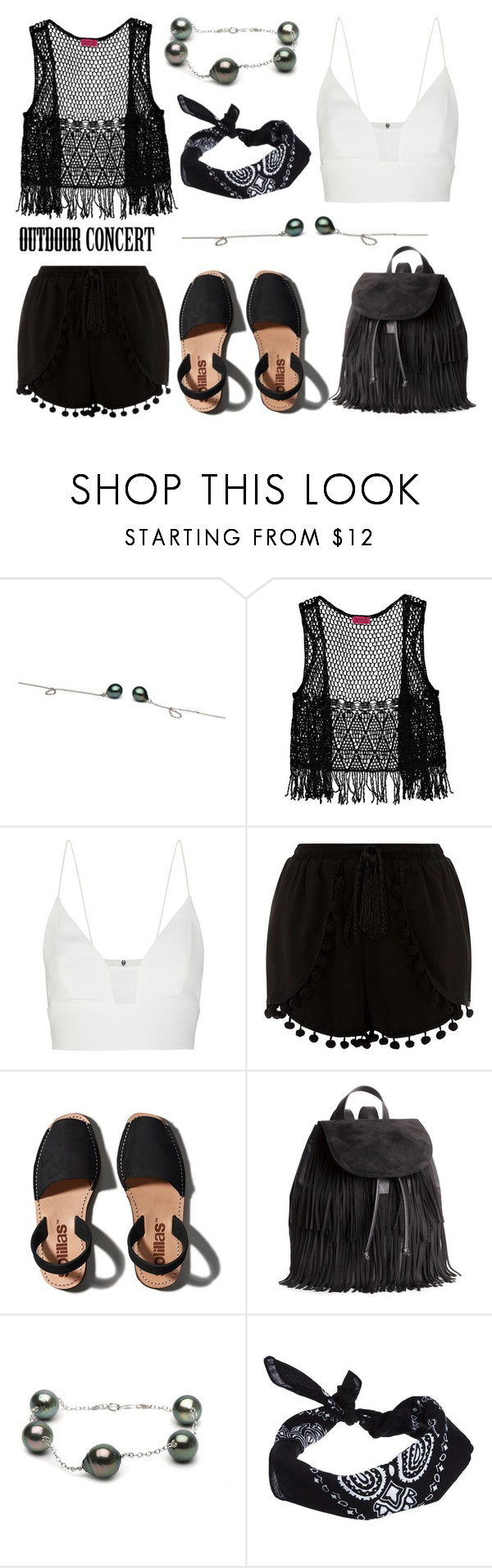 """Outdoor Summer Concert"" by pearlparadise ❤ liked on Polyvore featuring Boohoo, Narciso Rodriguez, Cameo Rose, Abercrombie & Fitch, H&M, ASOS, summerstyle, contestentry, outdoorconcert and pearljewelry"