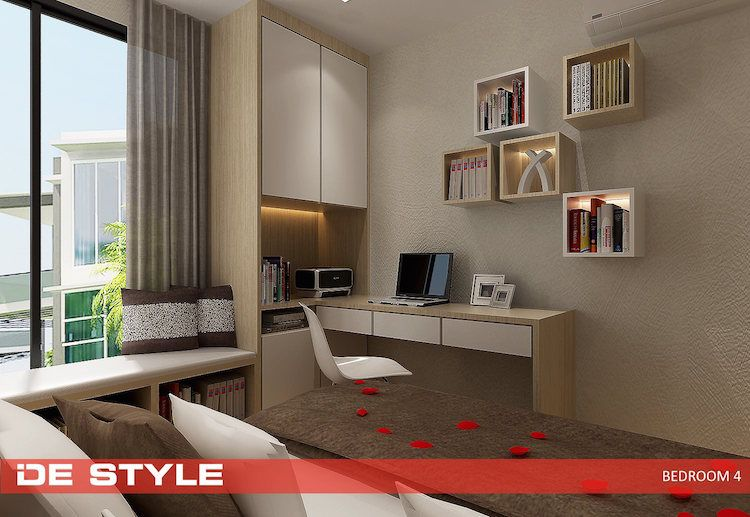 De Style Design Ideas For HDB Condo Study