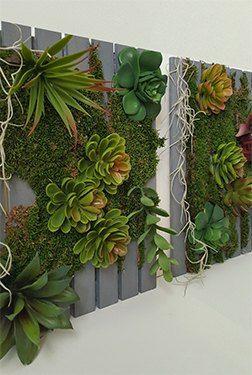 Make A Faux Diy Vertical Garden From The Dollar Store Vertical