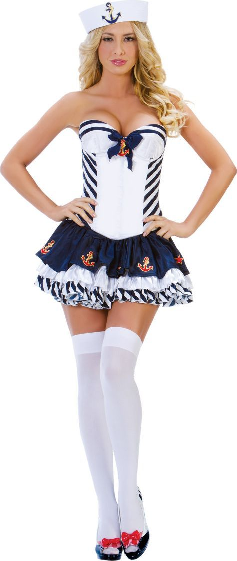 Adult Stripe Sailor Costume - Party City Birthday Pinterest - party city store costumes
