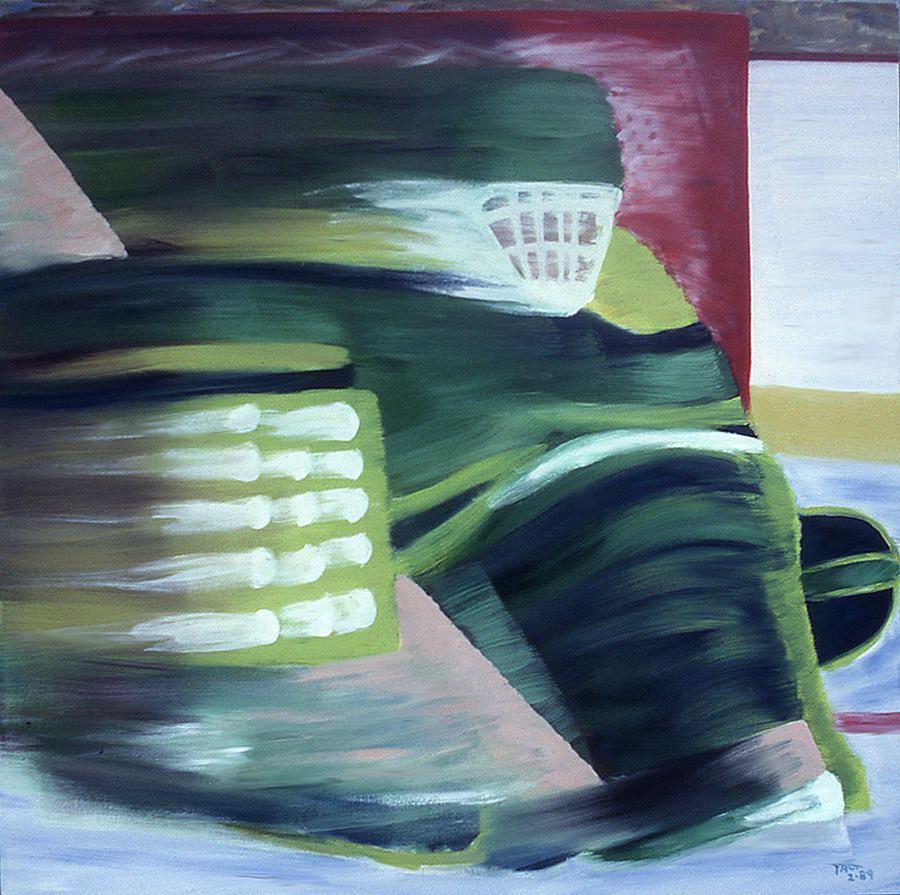 Hockey Movement Art Sports Art Abstract Artwork