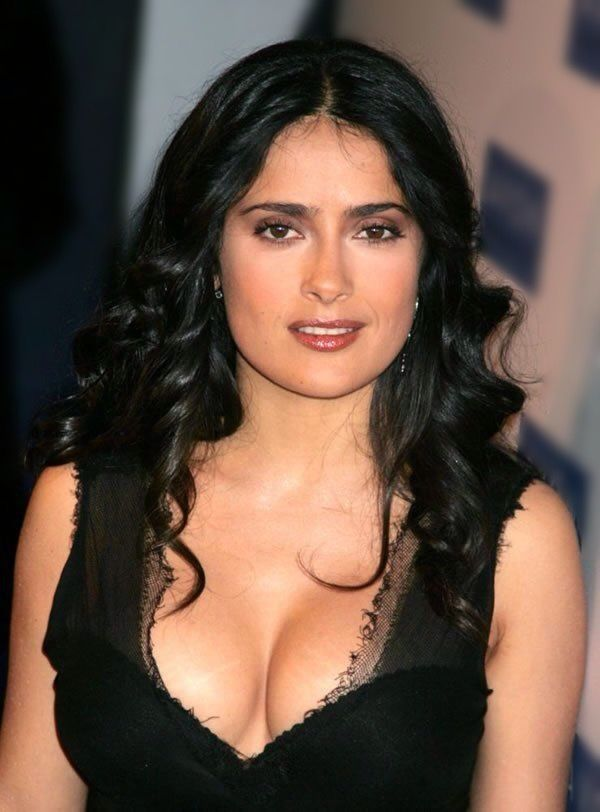beautiful salma hayek my lessss dreams pinterest. Black Bedroom Furniture Sets. Home Design Ideas