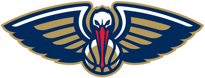 New Orleans Pelicans Alternate Logo 2014 New Orleans