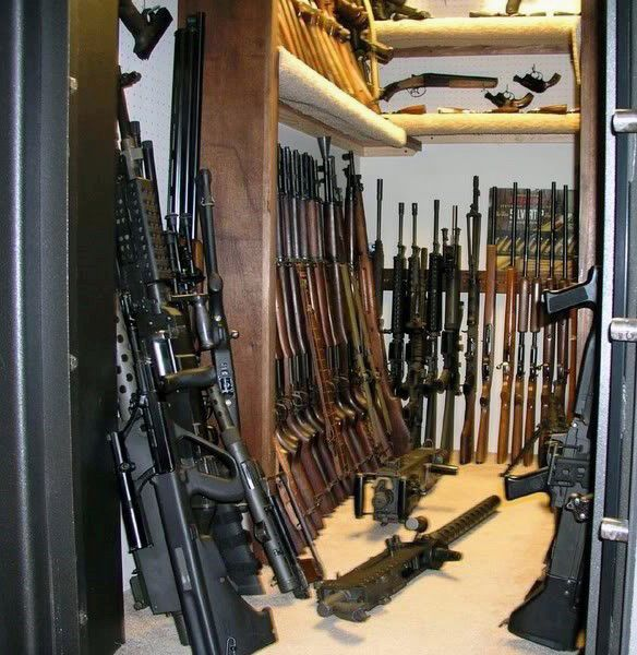 Armory gun room safe design awesome gun rooms for Walk in gun safe plans