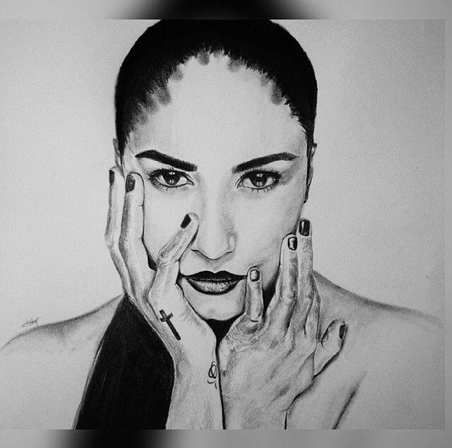 The stunning Demi Lovato.