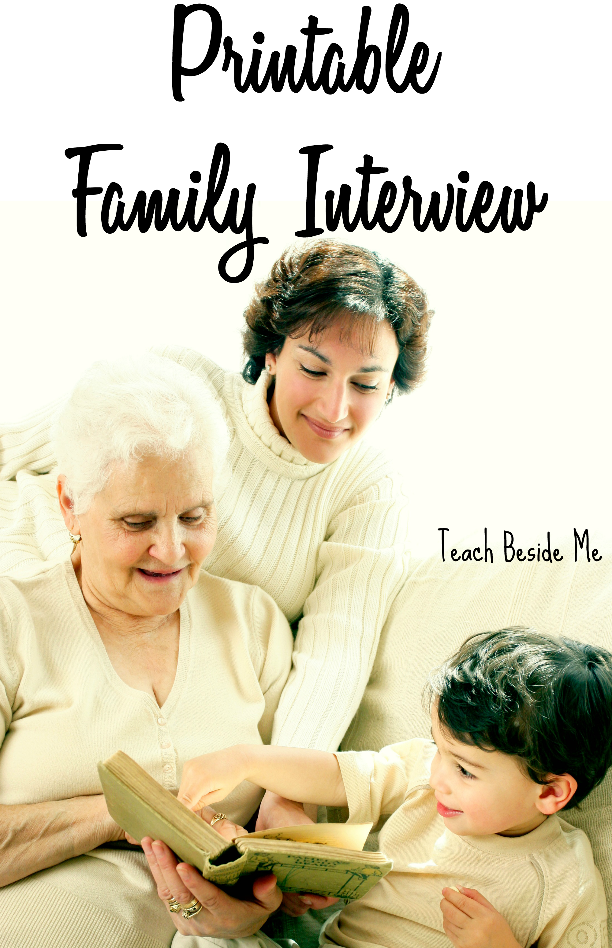 Family Interview For Parents Amp Grandparents