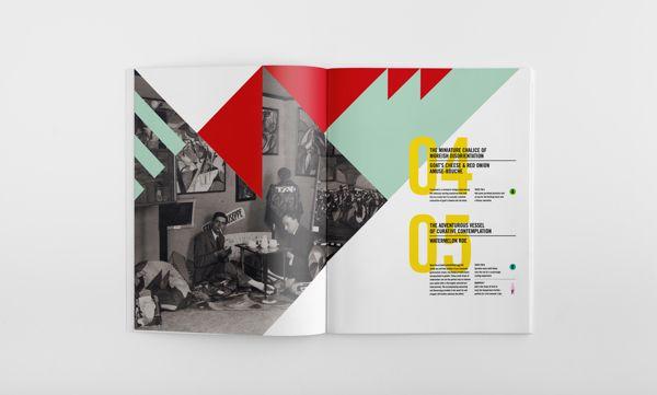The Futurist Kitschen booklet by Garry Calderwood, via Behance