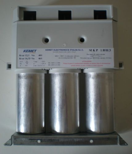 Kemet Electronics Three Phase Power Factor Correction Capacitor 12 5kvar Power Capacitor Electricity