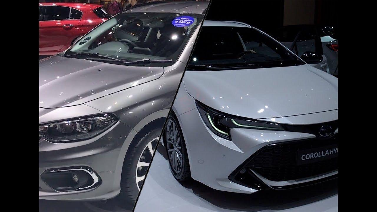 مقارنة فيات تيبو و تويوتا كورولا 2020 Toyota Corolla Fiat Tipo Toyota