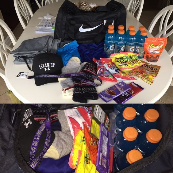 Sporty gift basket easy diy birthday gifts for boyfriend for Presents for boyfriends birthday