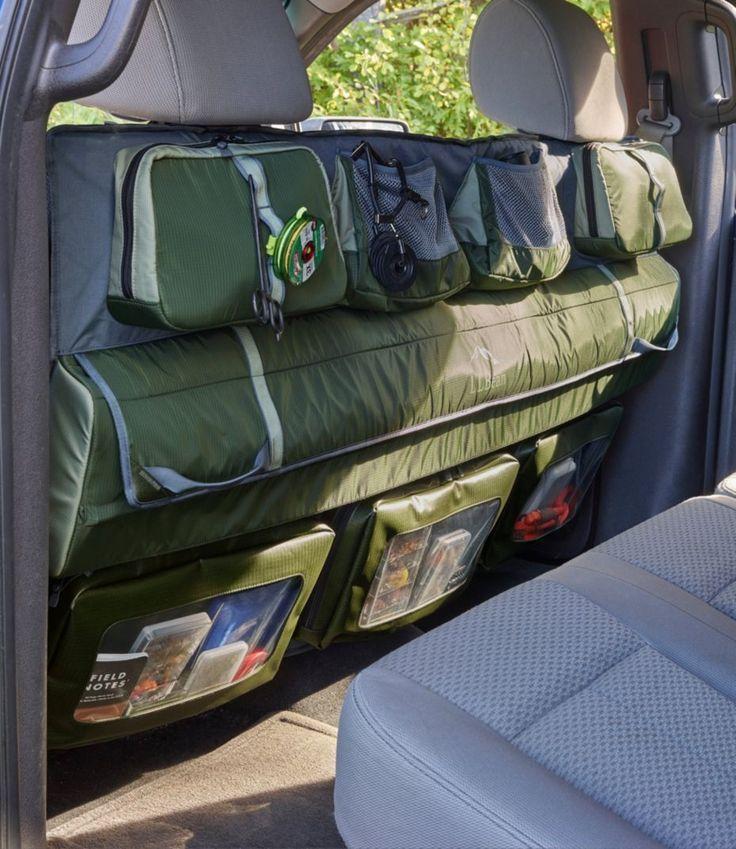 L.L.Bean Truck Seat Fishing Organizer Fishing