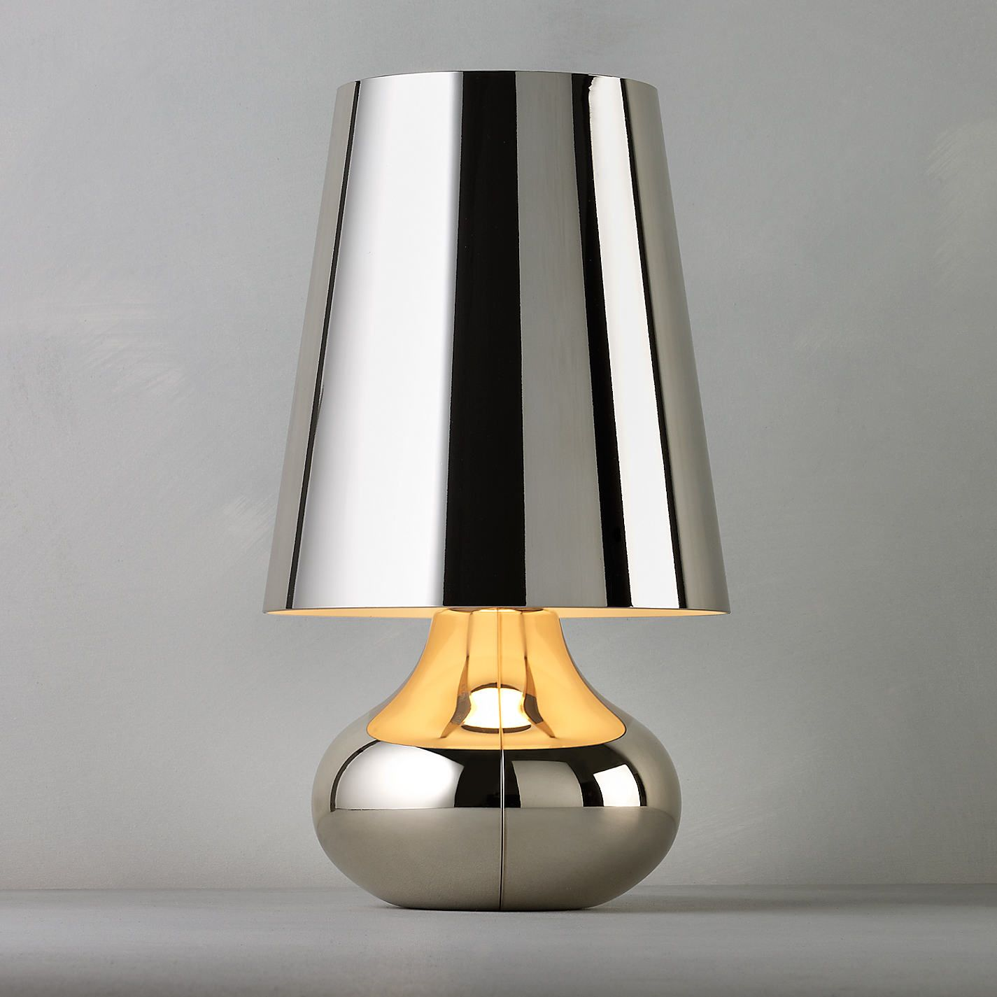 Buy kartell cindy table lamp platinum john lewis table lamp buy kartell cindy table lamp platinum john lewis geotapseo Image collections