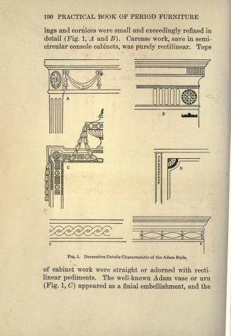 The practical book of period furniture, treatin...