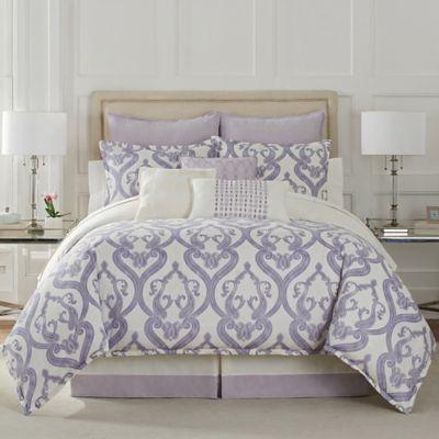 Eva Longoria Veracruz Queen Comforter Set In Lilac Products In