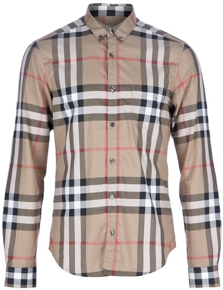 burberry plaid - simple elegant color combination with signature pattern. 8eade69f2
