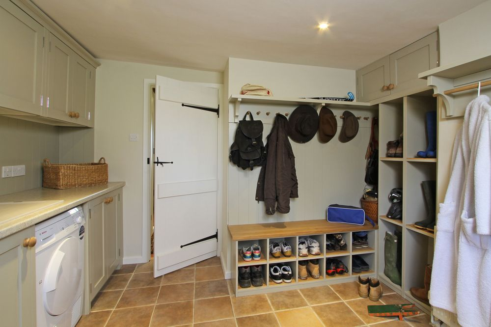 Boot, Shoe And Coat Storage Area In Utility Room