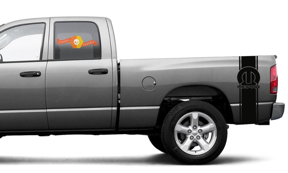 Dodge Ram 1500 2500 3500 Vinyl Decal Racing Sticker Stripe