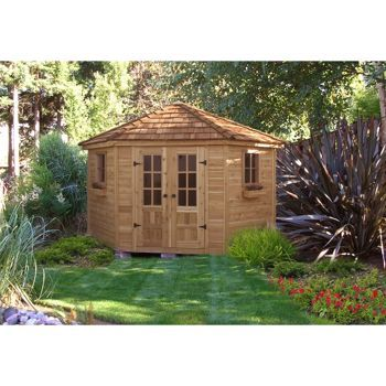 9 X 9 Penthouse Garden Shed Quality Craftsmanship U0026 Design As A Pool House  Or Deluxe Garden Shed, The Penthouse Will Add Beauty And Interest To Any  Garden.
