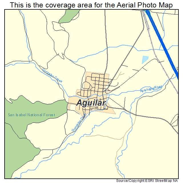 Aguilar Colorado Map.Aguilar Co Location Map Aguilar Colorado Colorado Perspective