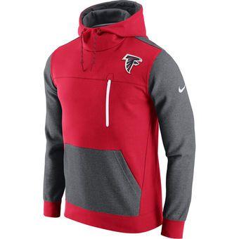 quality design b0bc6 654c0 Men's Atlanta Falcons Nike Red AV15 Fleece Pullover Hoodie ...