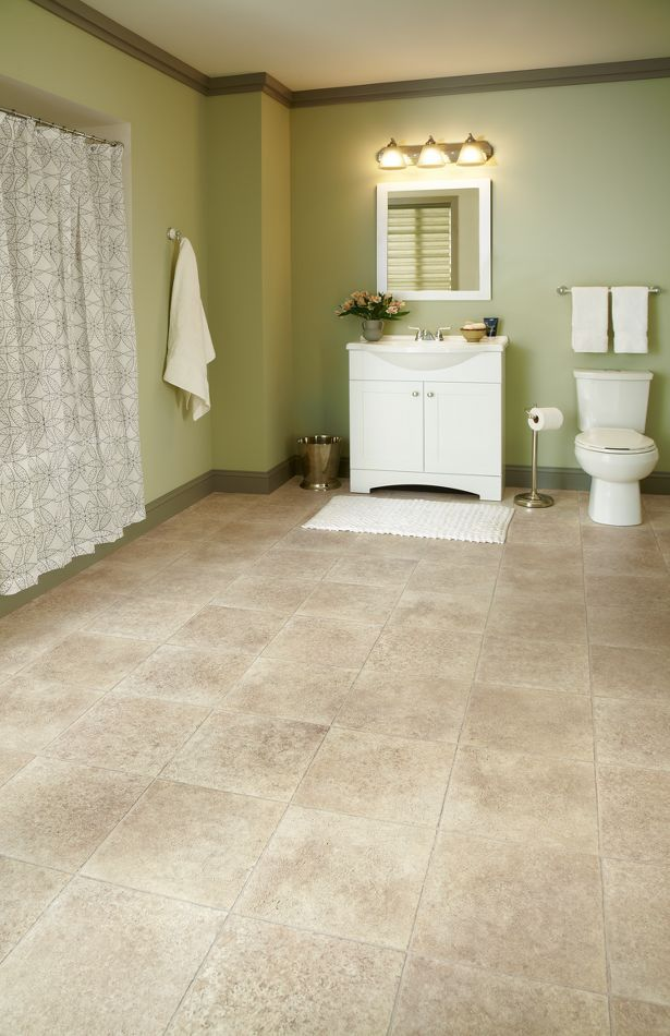 Limestone Paver Cream Cushionstep Better Collection By Armstrong
