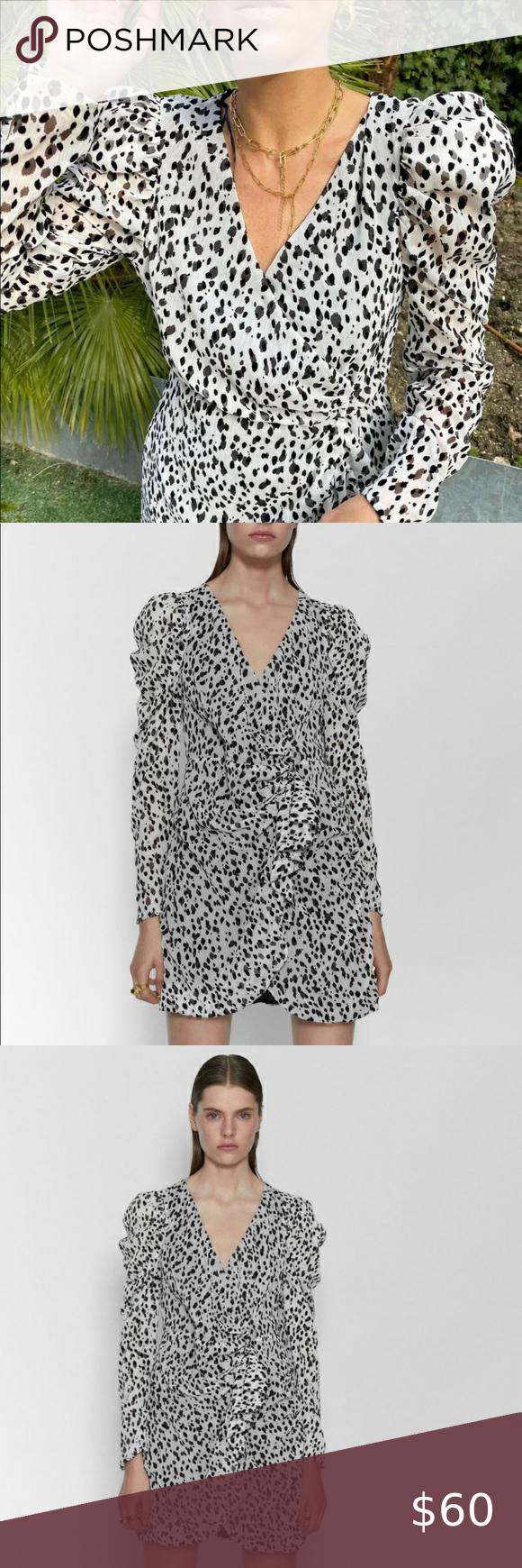 Zara Ss20 White Animal Print Dress Ref 8342 102 Animal Print Dresses Print Dress Clothes Design [ 1740 x 580 Pixel ]