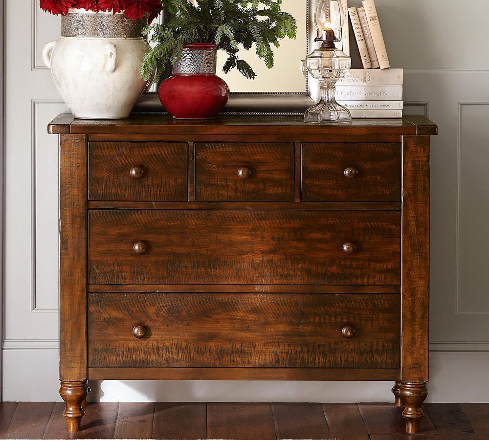 Ashby Dresser Pottery Barn Wood Rustic Brown Dresser Armoires Bedroom Home Sweet Home