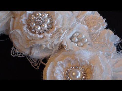 Photo of Shabby fabric wreath