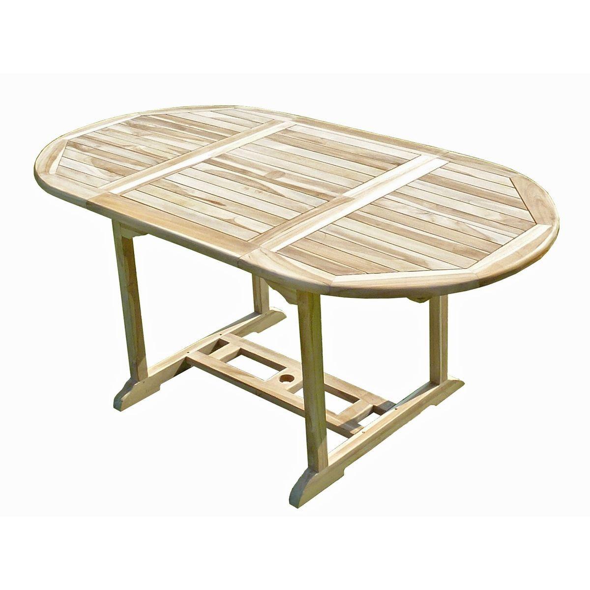 Table De Jardin En Teck Solo 6/8 Places - Taille : 8 pers ...