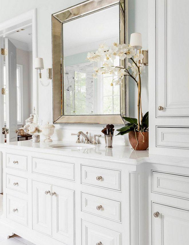 Timeless bathroom cabinet design White Timeless bathroom ...