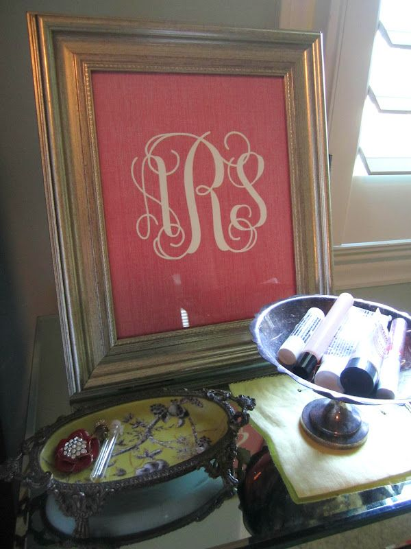 A. Liz Adventures: Pinterest Find: Free Monogram Printable