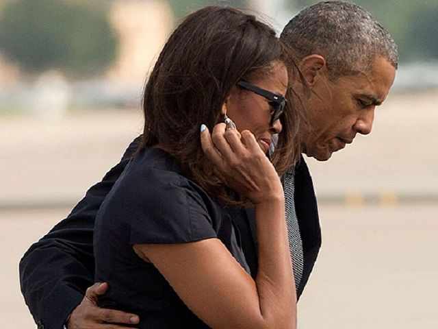 The First Couple at Beau Biden Funeral